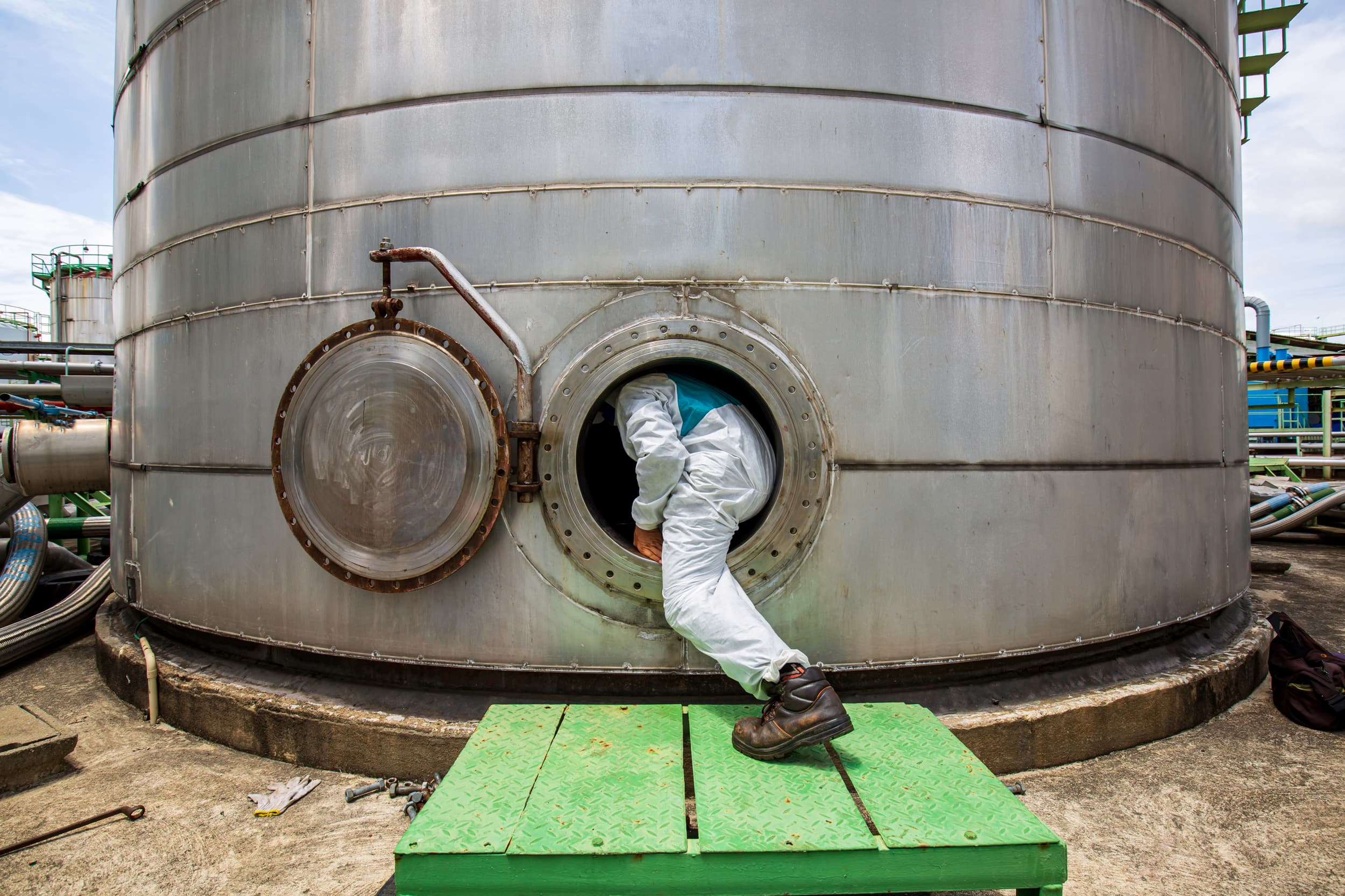 Compliance Training Online Cal/OSHA Confined Space Entry course