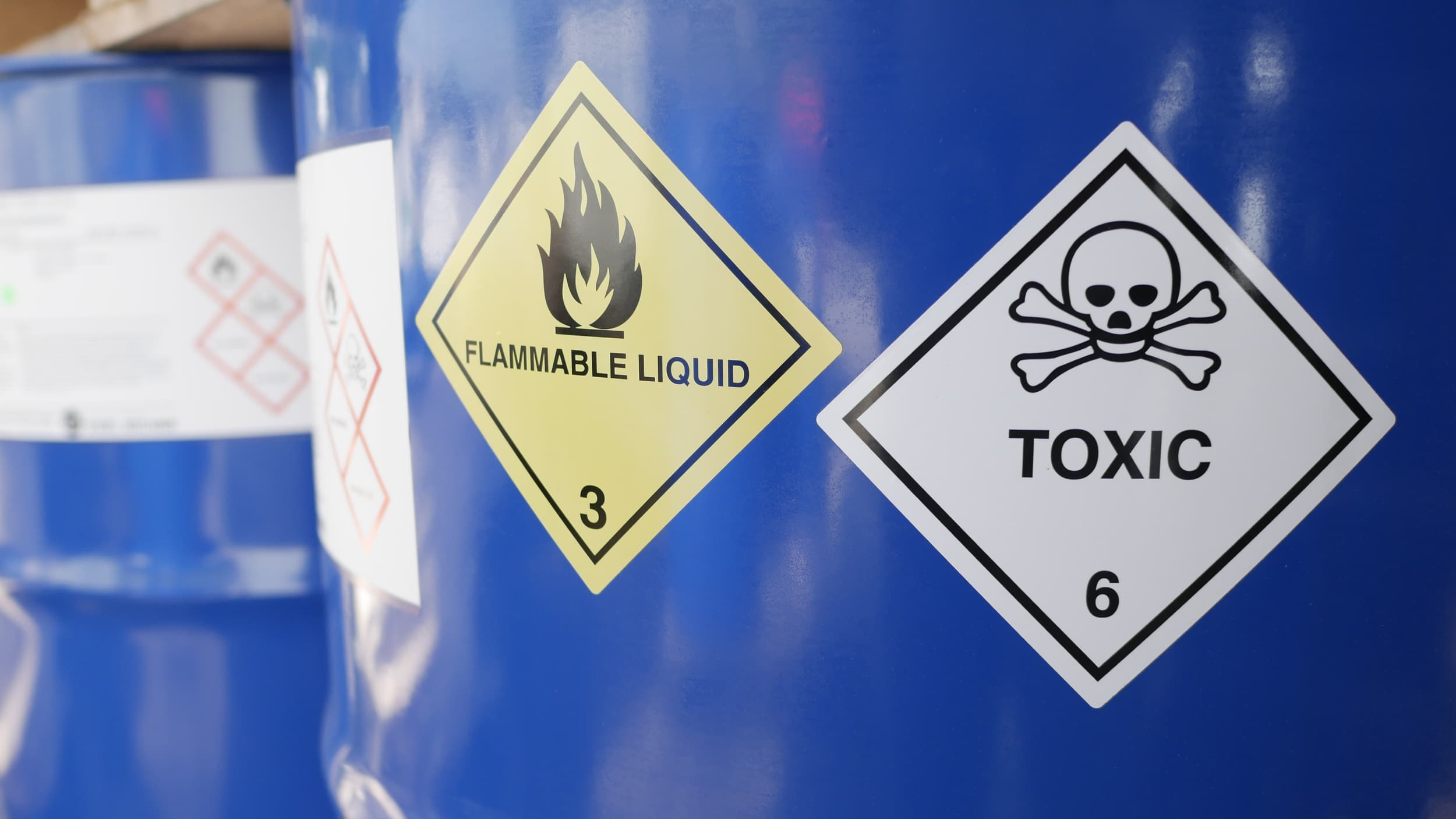 Compliance Training Online Industrial Chemical Hazards & Toxic Substances course